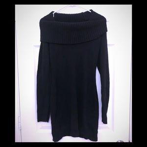 BCBG EUC black sweater dress Sz M